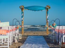Beach Weddings in Texas Port Aransas Texas