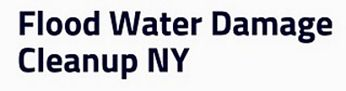 Water Cleanup Long Island West Babylon New York