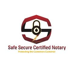 Safe Secure Certified Notary Plano Texas