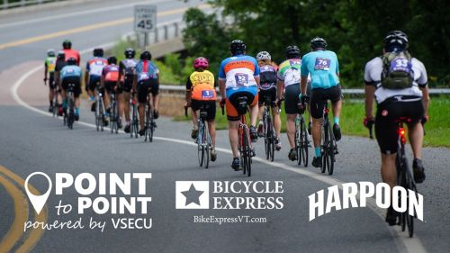 Point to Point Training Ride with Bicycle Express Waterbury Vermont