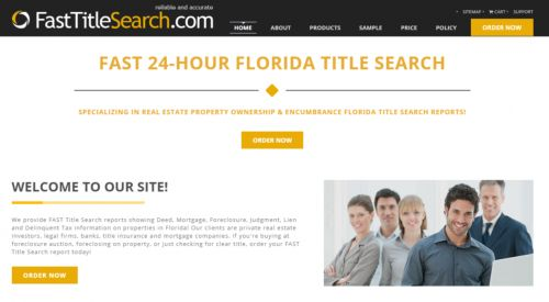 FastTitleSearch.com Cutler Bay Florida