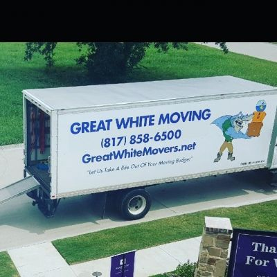 Great White Moving Company Haltom City Texas