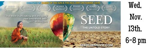 Seed: The Untold Story Waterbury Vermont