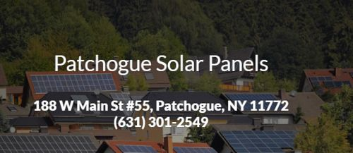 Patchogue Solar Panels Patchogue New York