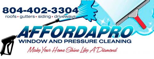 Affordapro Window and Pressure Cleaning sandston Virginia