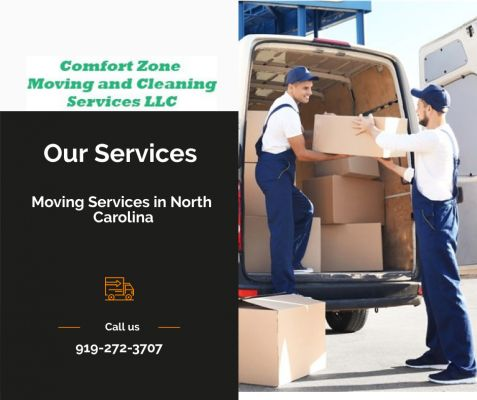 Moving Services Chapel Hill NC-Comfort Zone Moving and Cleaning Services LLC Chapel Hill North Carolina