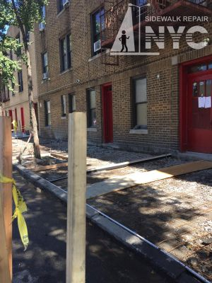 The Sidewalk Repair NYC Woodhaven New York