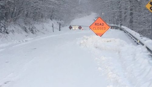A Vermont winter inches closer as Smugglers Notch road closes Thanksgiving week Stowe Vermont