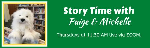 STORY TIME WITH PAIGE AND MICHELLE / THURS / ZOOM Waterbury Vermont