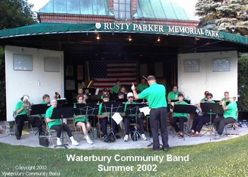 Rehearsals Waterbury Community Band Waterbury Vermont