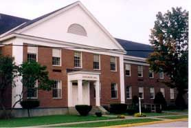 Schulmaier Hall is located on the Vermont College campus in Montpelier.