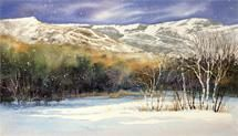 Lisa Forester Beach - Winter In Snow Country - Opening Reception Stowe Vermont