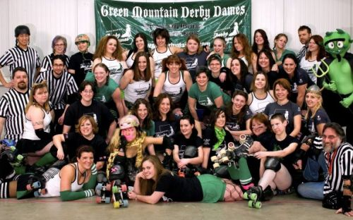 Green Mountain Derby Dames - Skates & Laces Newsletter,  March 2010 Waterbury Vermont