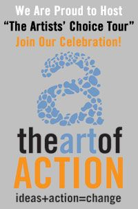 "Opening Reception for ""Art of Action"" Waterbury Vermont"