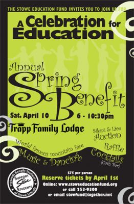 """Stowe Education Fund """"Celebration for Education"""" Stowe Vermont"""