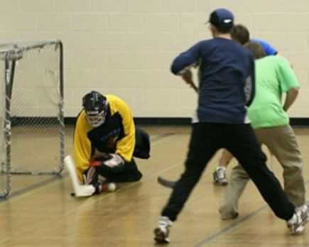 Adult Pickup Floor Hockey Stowe Vermont