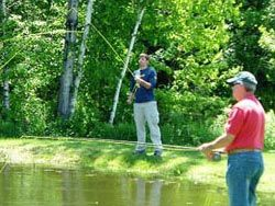 Free Fly Fishing Casting Clinics: Every Wednesday & Saturday Stowe Vermont