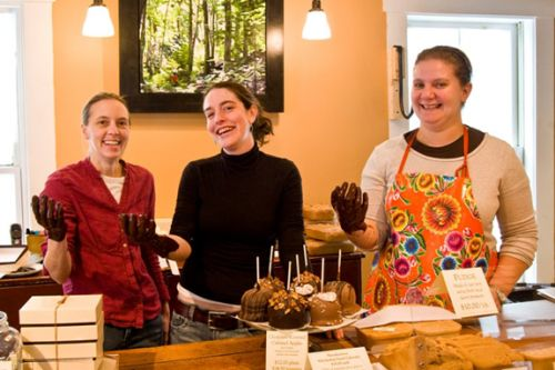 Laughing Moon Chocolates: Make your own Mother's Day surprise Stowe Vermont