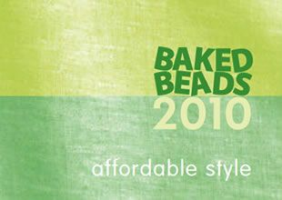 Baked Beads Sale - Memorial Day Weekend Fashion Accessory Clearance Waitsfield Vermont