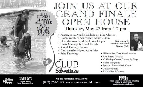 Stoweflake Fitness Center Open House Stowe Vermont