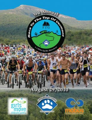 3rd annual FJG Race To The Top Of Vermont Stowe Vermont