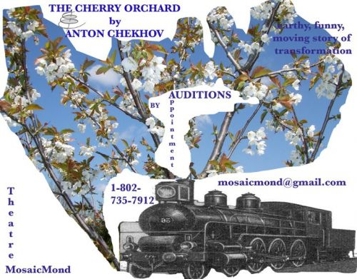 <b><i>The Cherry Orchard</b></i>  A Comedy in Four Acts  by Anton Chekhov Burlington Vermont