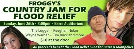 Flood Relief Country Jam in Barre VT Barre Vermont