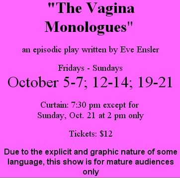 """""""The Vagina Monologues"""" Waitsfield Vermont"""