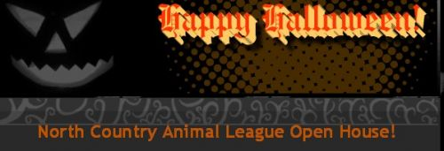 North Country Animal League Howl-o-ween Open House Morrisville Vermont